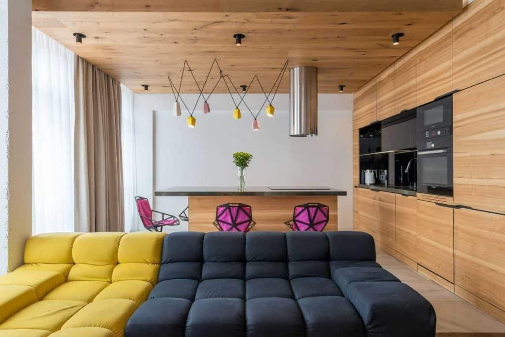 ristrutturazione monolocale 30mq in piccoli spazi